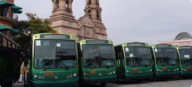 Habrá camiones urbanos ecológicos en Aguascalientes