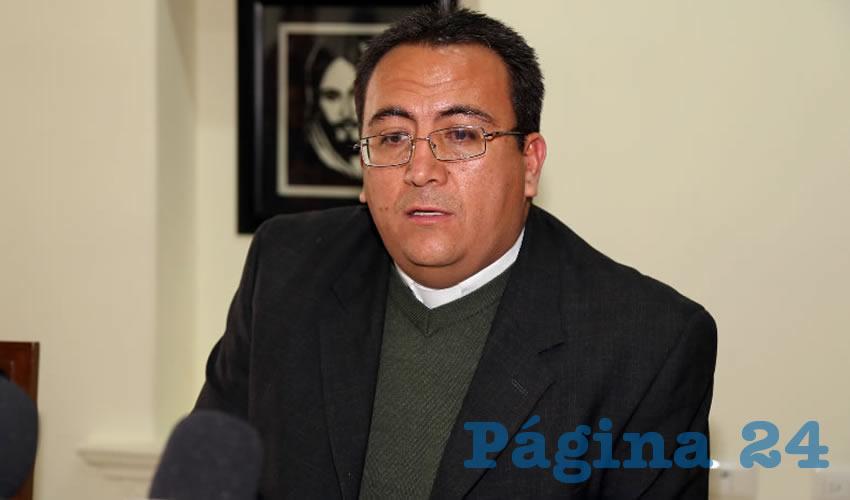 Benjamín Andrade: A los Jóvenes ya no les Interesa Convertirse en Sacerdotes