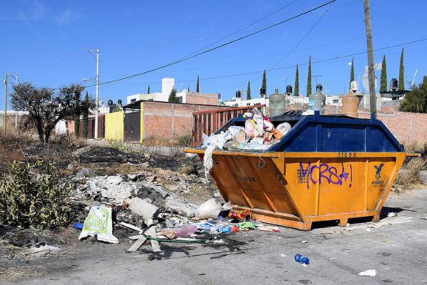 Ataca Tere el problema de recolección de basura