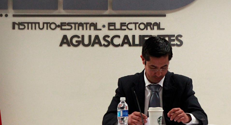 Consejero Presidente IEE Aguascalientes