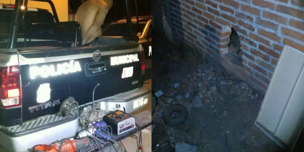 Ladrón ataca a martillazos a policía para evitar su detención en la Martínez