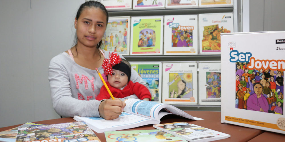 Descubre municipio capital que hay niñas que son jefas de familia