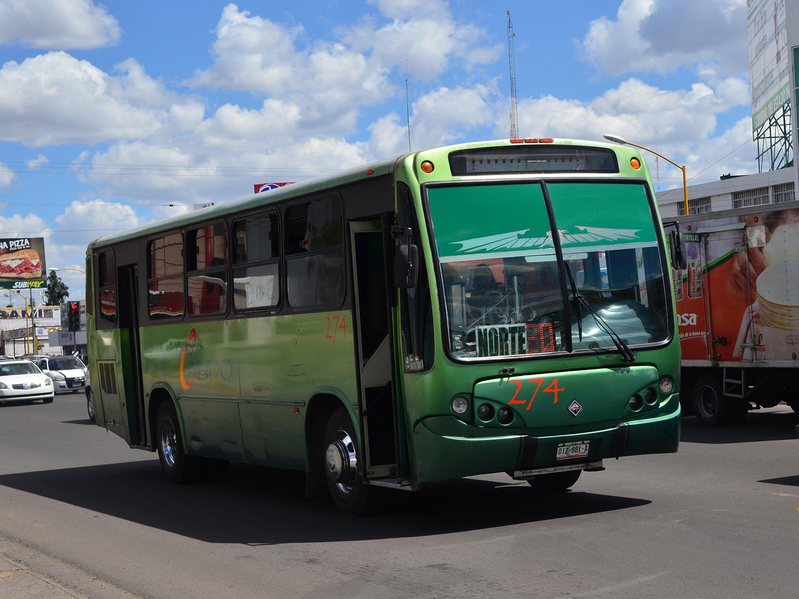 Fuera de la Ley 1,903 autobuses urbanos