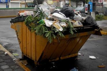 Sigue colapsado el servicio de recolección de basura