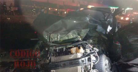 Espantosa muerte encontró una mujer tras impactarse en la parte posterior de una pipa de gas.