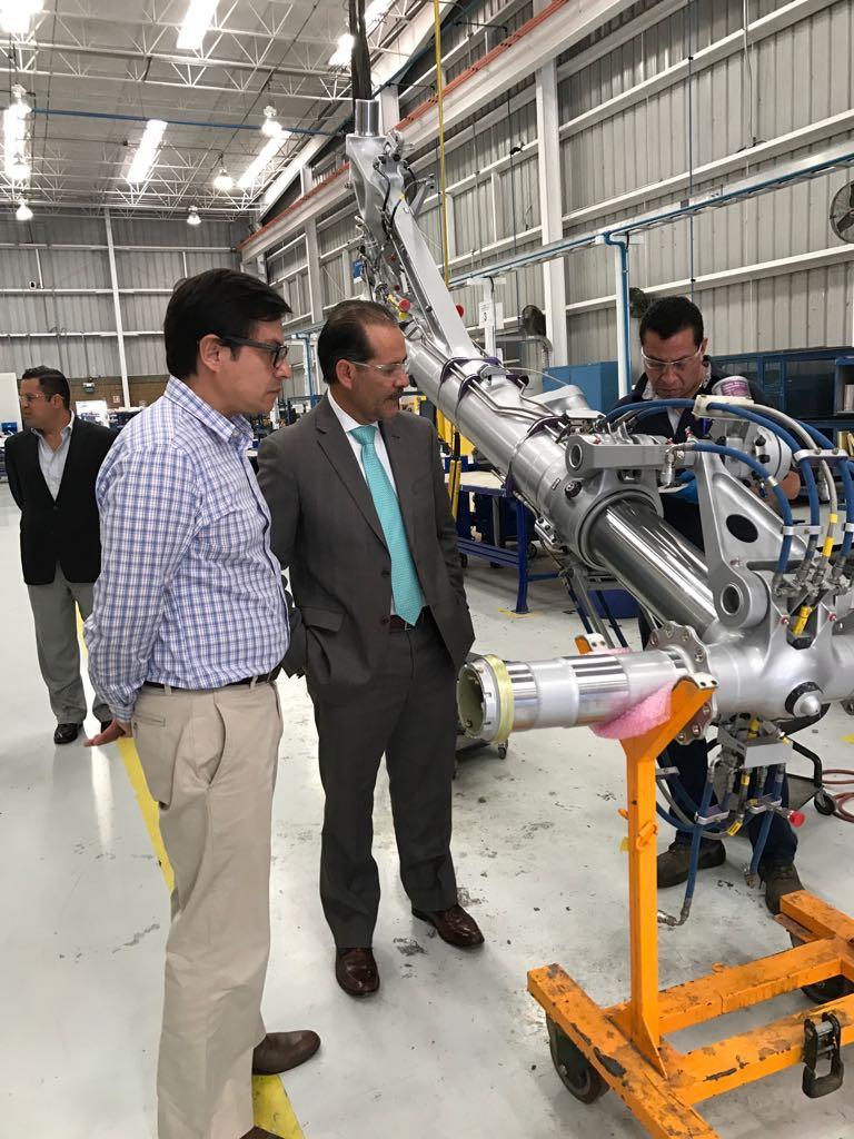 Gestiona el Gobierno del Estado la Incursión de Proveedores Automotrices en Cluster Aeronáutico