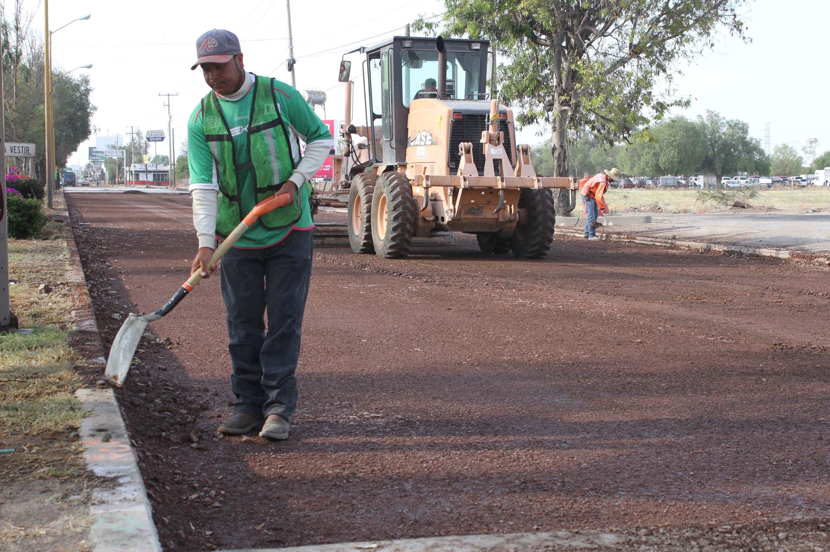 Hoy cierre en José María Chávez por obras de pavimentación