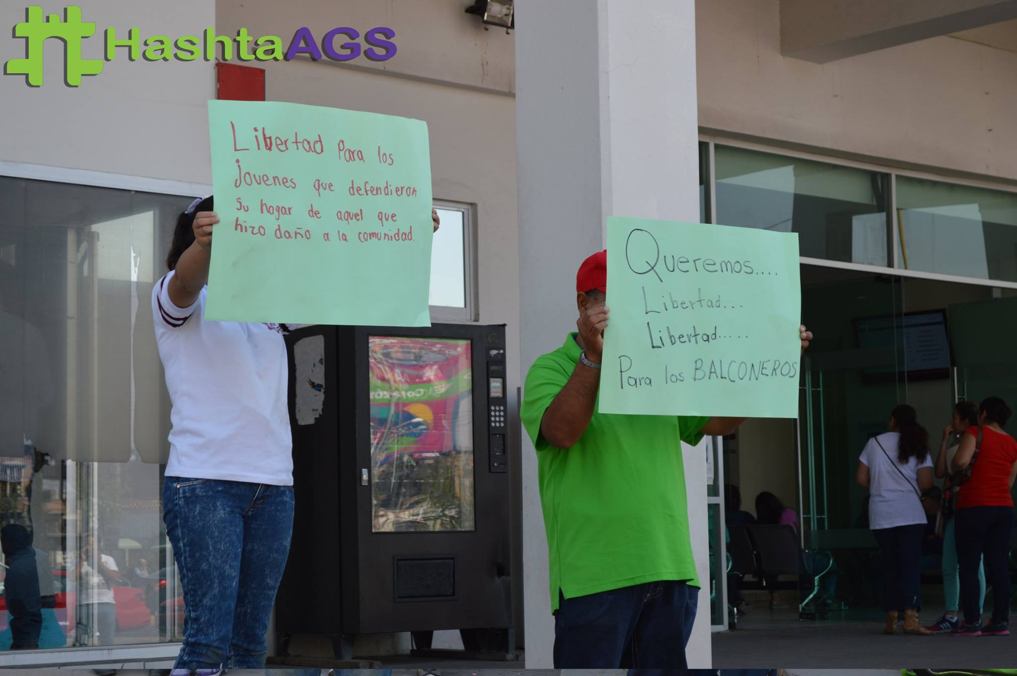 """Se Manifiestan Nuevamente Para Exigir la Liberación de los Homicidas de """"El Huevo"""""""