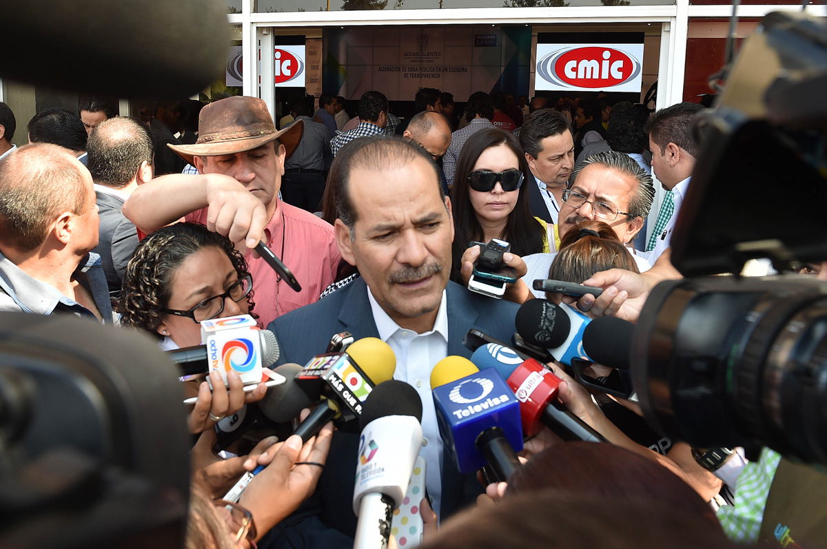 Nombran a Gobernador de Aguascalientes MOS Defensor de los Periodistas de México
