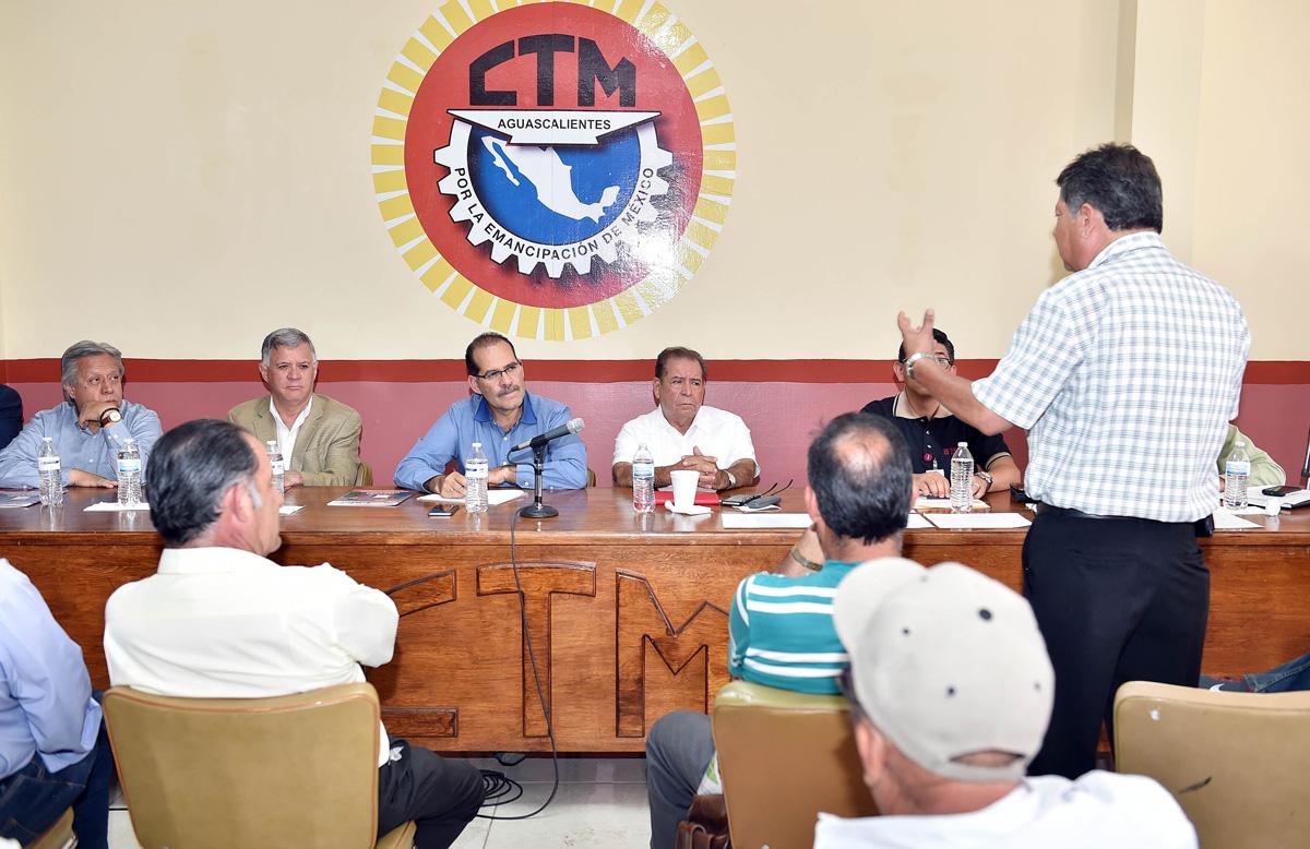 El Gobierno Tiene Puertas Abiertas Para los Trabajadores de Aguascalientes: MOS