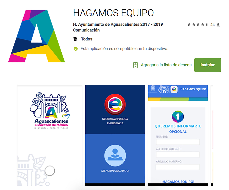 Lanzan app para emergencias en el municipio de Aguascalientes