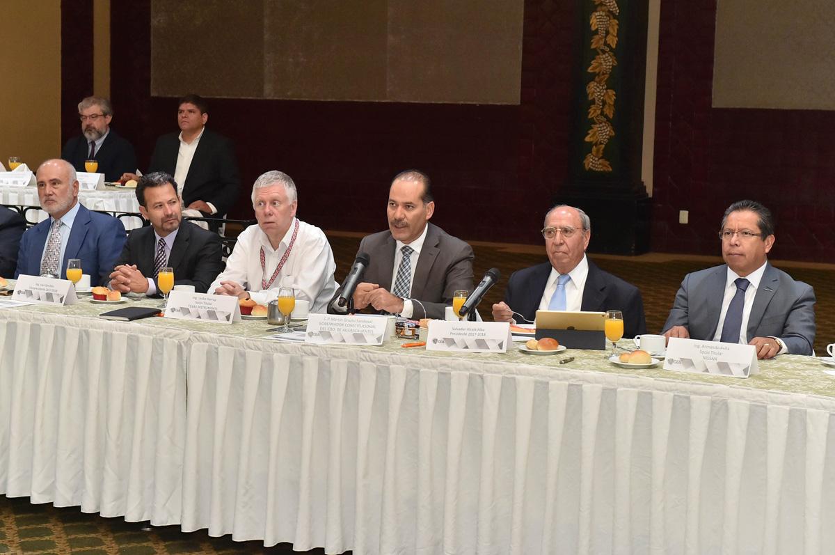 Alianza con los Sectores Productivos a Favor del Desarrollo de Aguascalientes