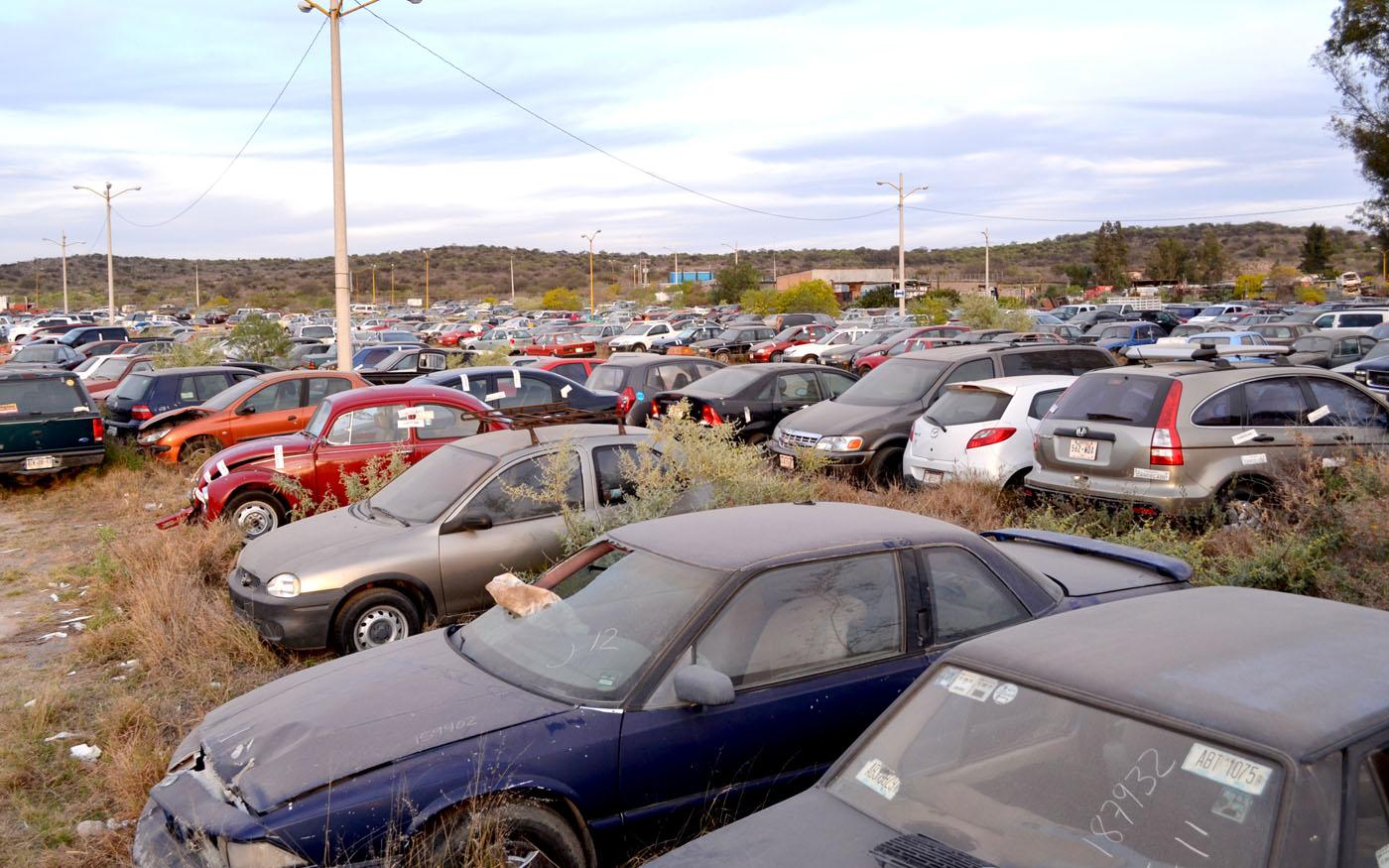 Ofrece Descuentos Secretaría de Finanzas a Propietarios de Vehículos en el Corralón