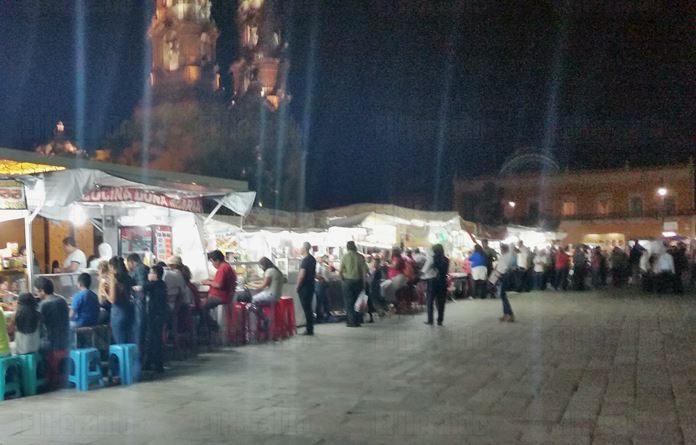 Sí habrá vendimia en la Plaza de la Patria en el Quincenario Mariano