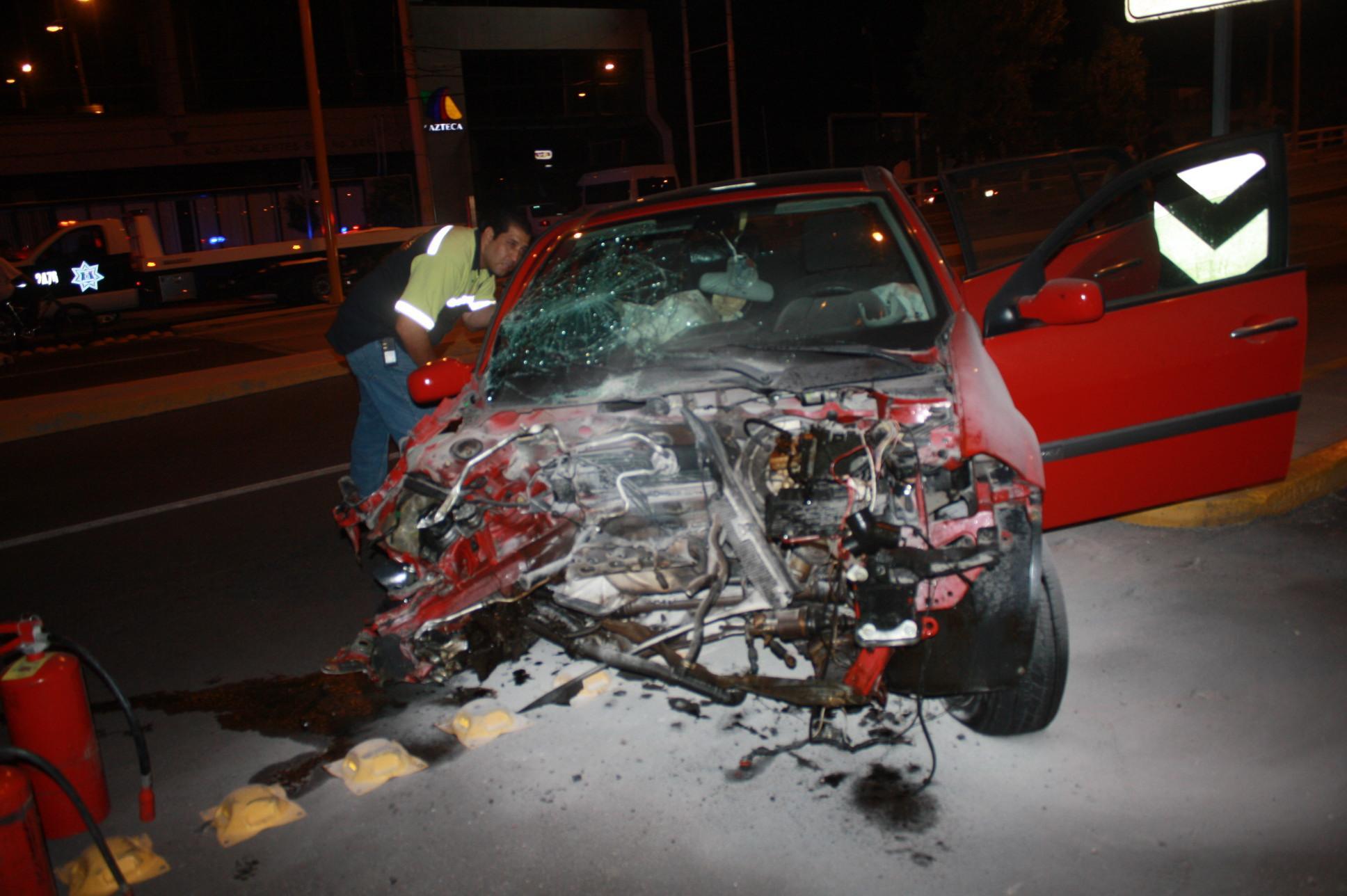 6.94 accidentes viales se presentan al día este año en Aguascalientes