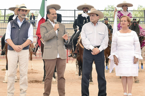 Inauguran el Festival Internacional de Caballos con la participación de ocho países