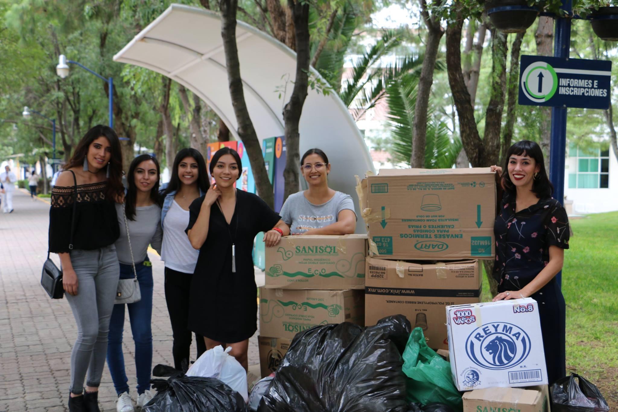 Universidad Cuauhtémoc realiza campaña de recolección para DIF Estatal