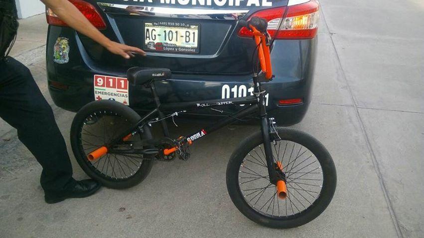 Tiene Aguascalientes cifra negra en robo de bicicletas