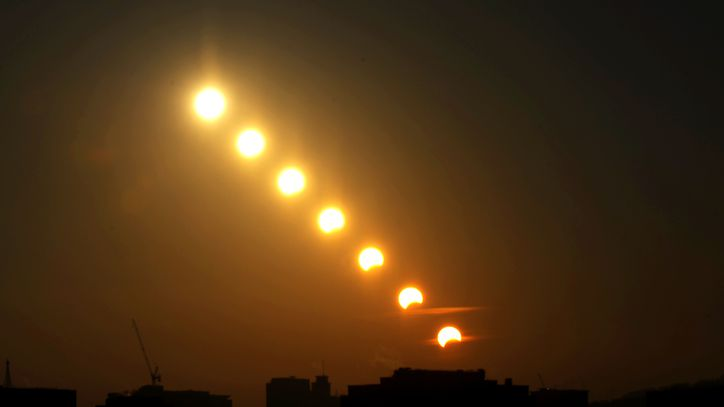 Vivieron la emoción del eclipse