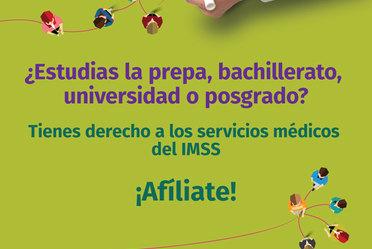 El IMSS renovará la afiliación de más de 70 mil estudiantes