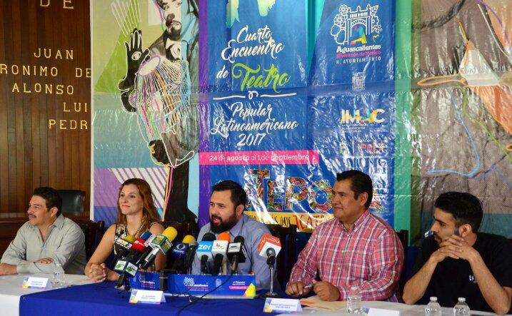 Inicia el Cuarto Encuentro de Teatro Popular Latinoamericano