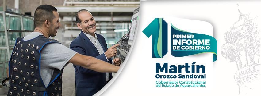 Cancelan evento público por informe de Martín Orozco