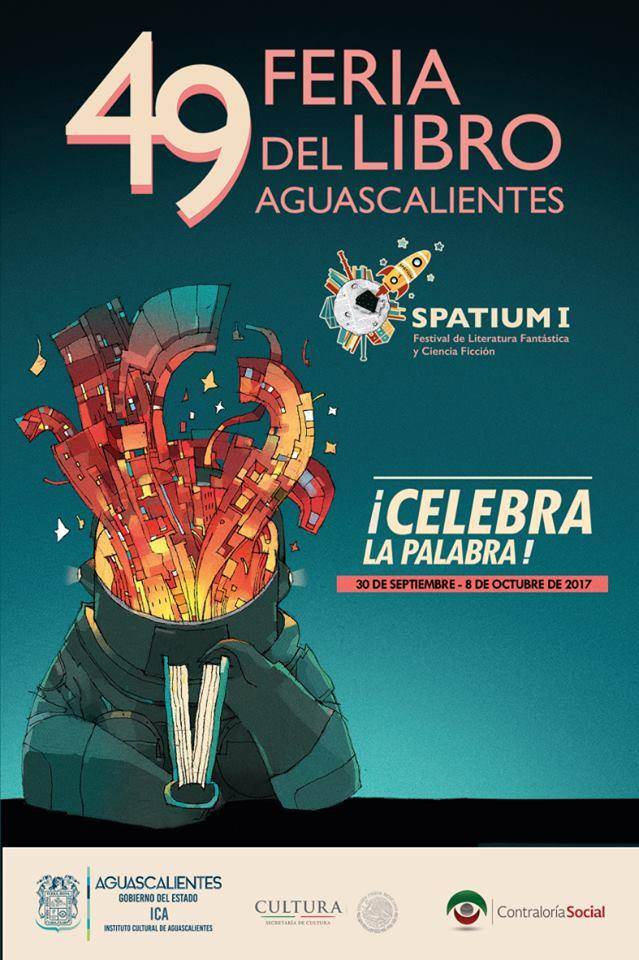 Feria de Libro 2017 de Aguascalientes: El programa completo