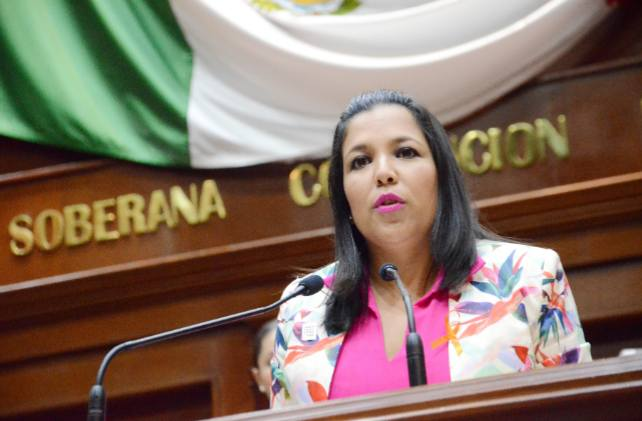 Asegura diputada Zamora que audio está editado para evitar su reelección