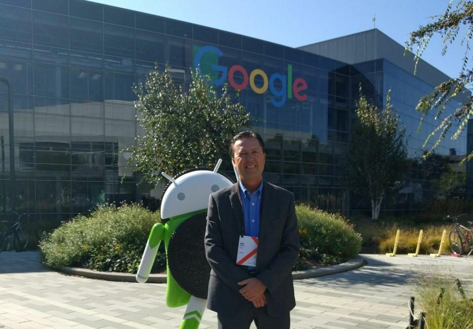 Titular del IEA asiste al 5° Simposium Internacional en Educación Google 2017