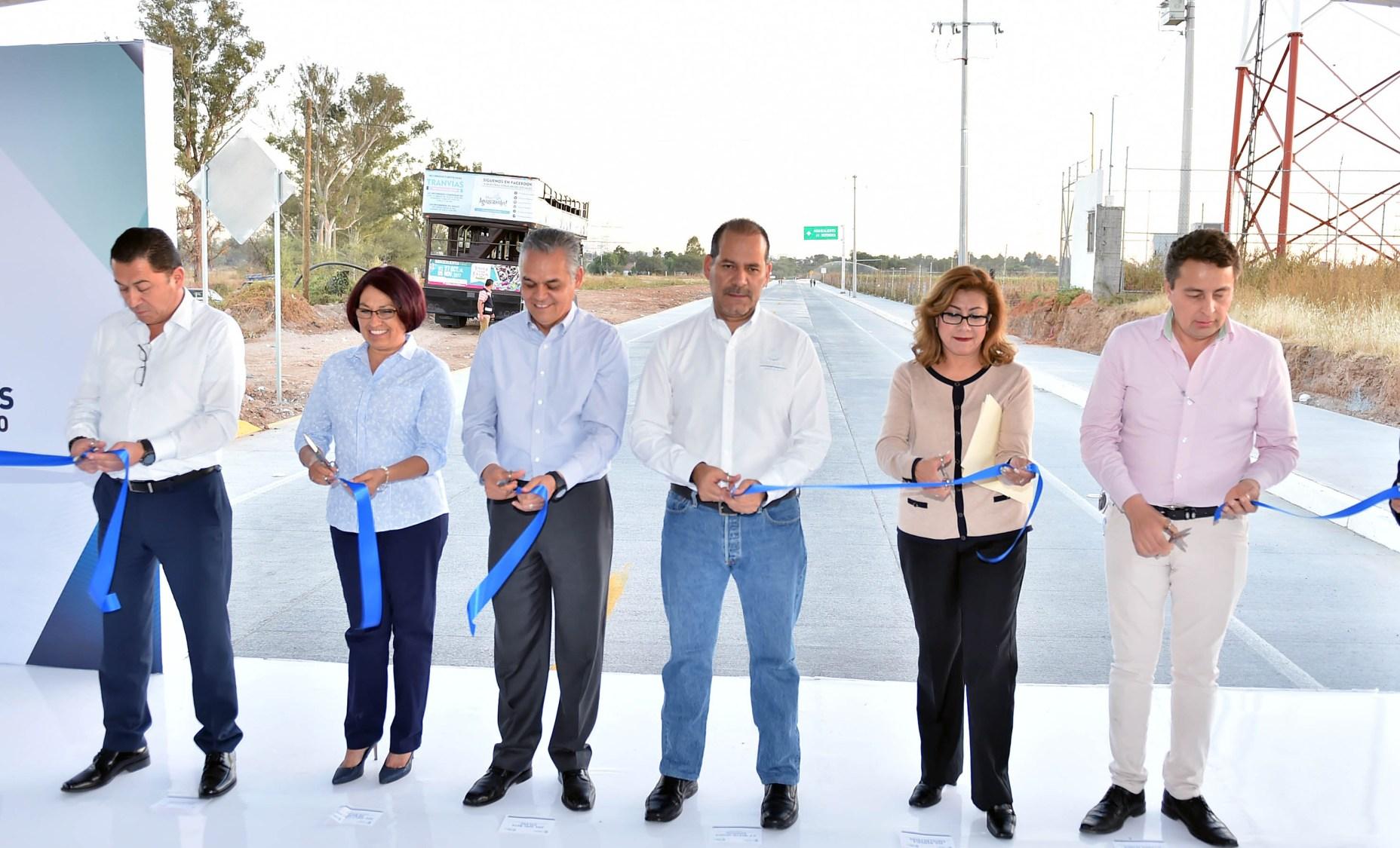 Concluyen trabajo de ampliación de la avenida Independencia