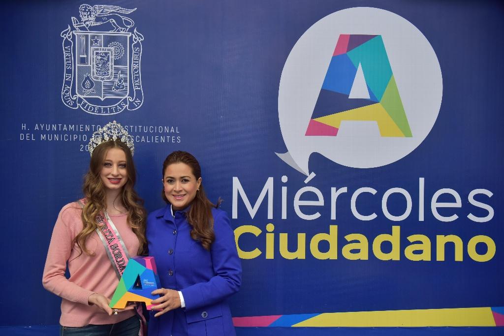 """Aguascalentense gana concurso """"Señorita Sorda México 2018"""""""