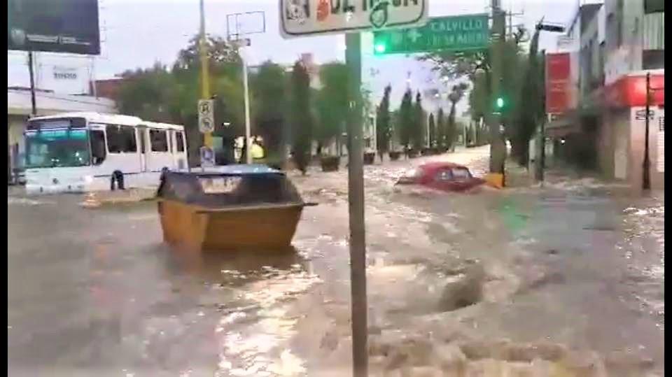 Este jueves se pronostican tormentas fuertes para Aguascalientes