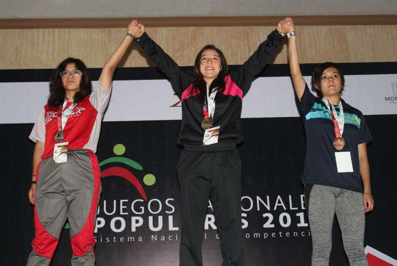 Aguascalientes suma 13 medallas en los Juegos Nacionales Populares