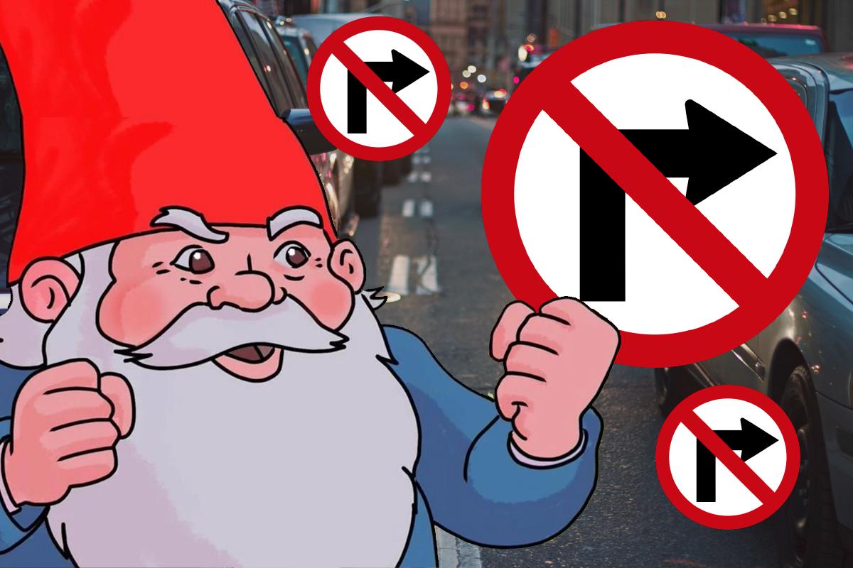Persiste vuelta a derecha con precaución