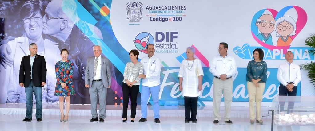 Inicia en Aguascalientes programa Vida Plena para adultos mayores