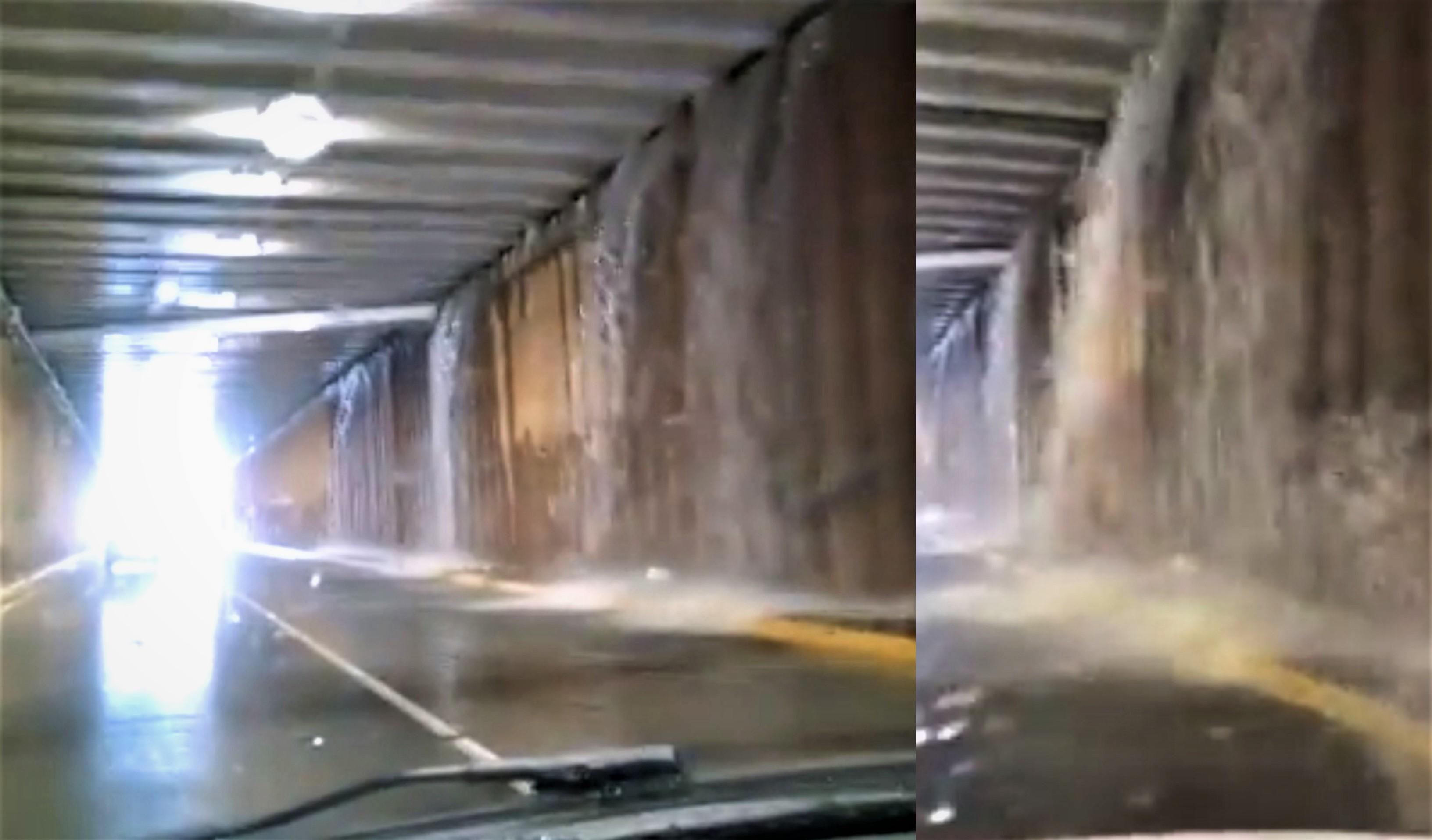 """Explican """"cascadas"""" del paso a desnivel de Colosio y Universidad"""
