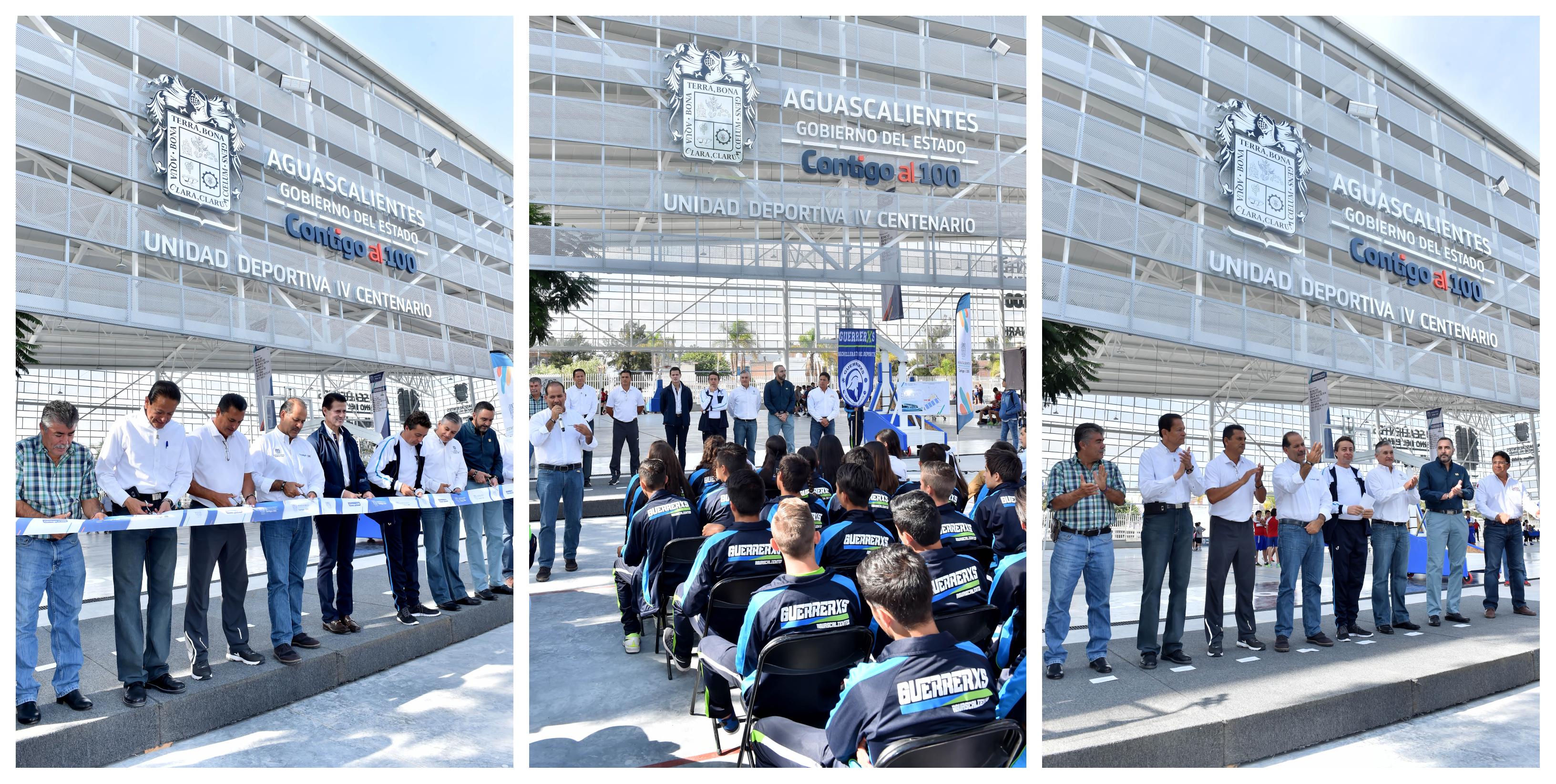 Invirtieron 20MDP en la Unidad Deportiva IV Centenario