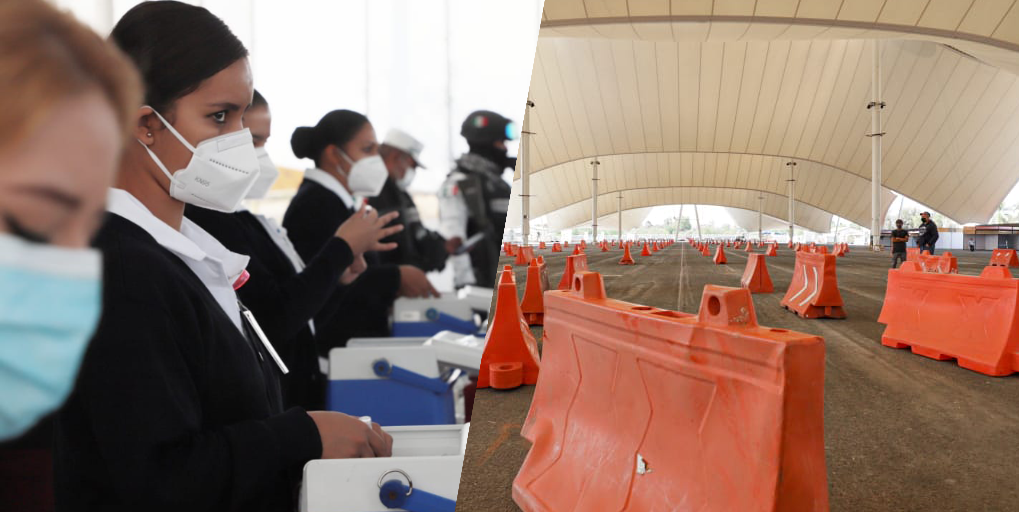 Se preparan dos nuevos centros de vacunación, uno será a través de vehículo